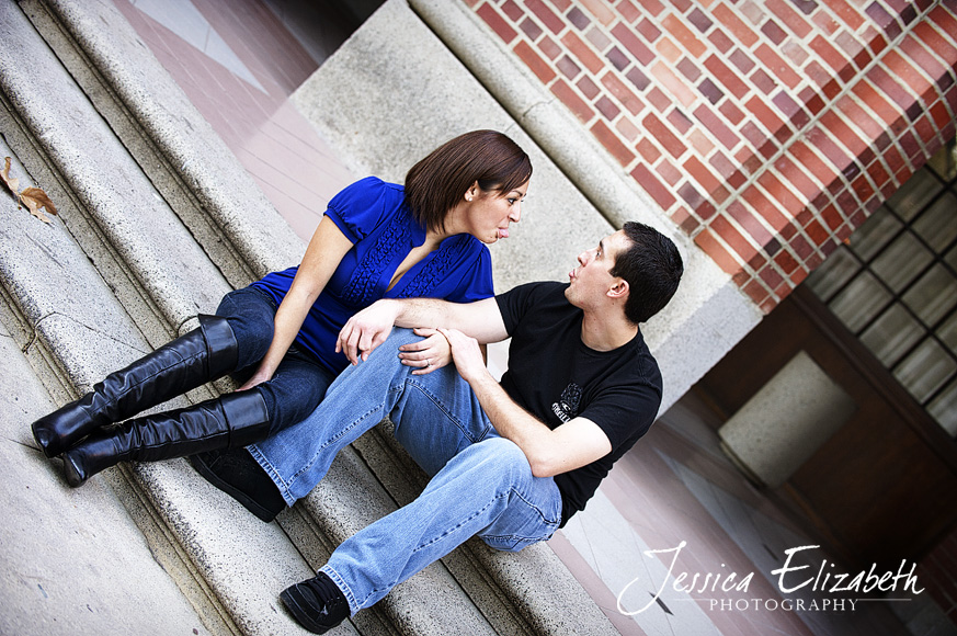 6-USC Engagement Shoot - Los Angeles Wedding Photographer_Marisa & John.jpg