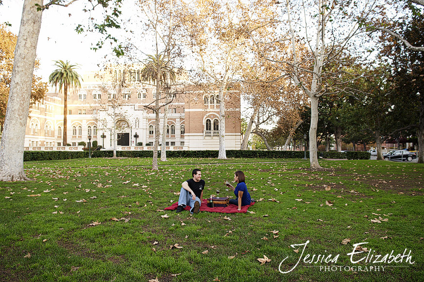 9-USC Engagement Shoot - Los Angeles Wedding Photographer_Marisa & John.jpg
